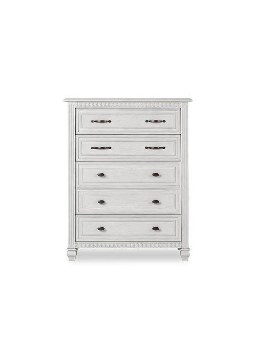 Evolur Baby Madison Tall Chest In Antique Mist