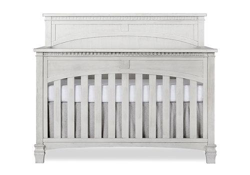 Evolur Baby Santa Fe 5-in-1 Convertible Crib In Antique Mist