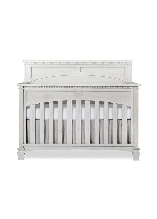 Evolur Baby Santa Fe 5-in-1 Convertible Crib In Antique Mist