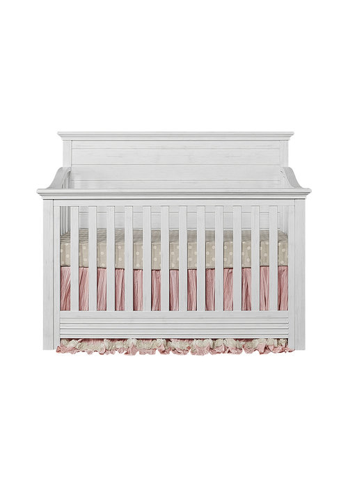 Evolur Baby Waverly 5-in-1 Convertible Crib In Weathered White