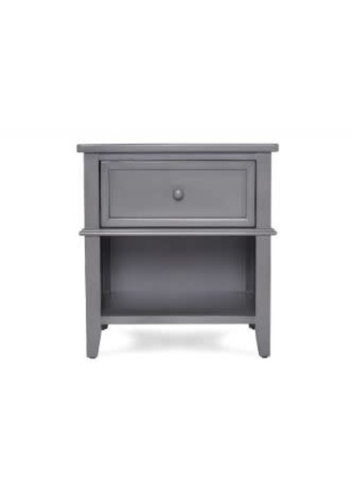 Evolur Baby Evolur Baby Windsor Night Stand In Storm Grey/Steel Grey