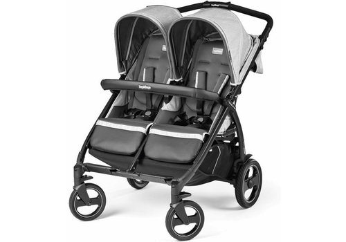 Peg-Perego Peg Perego Book For Two In Atmosphere-Light Grey & Dark Grey