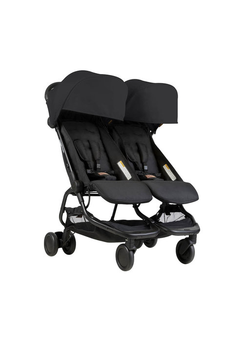 Mountain Buggy Mountain Buggy Duo Nano Travel Double In Black