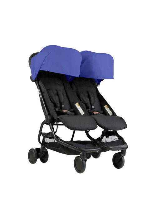 Mountain Buggy Mountain Buggy Duo Nano Travel Double In Nautical