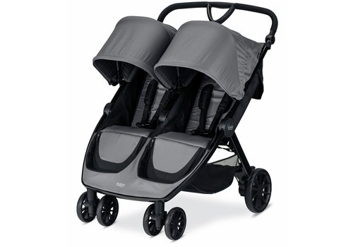 Britax Britax B-Lively Double Stroller In Dove