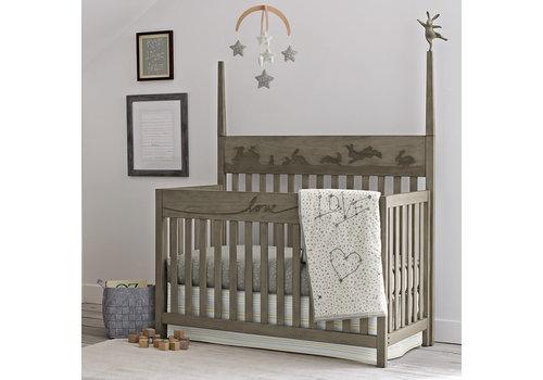 ED By Ellen Degeneres ED Ellen Degeneres Forest Animals Convertible Crib In Natural Grey