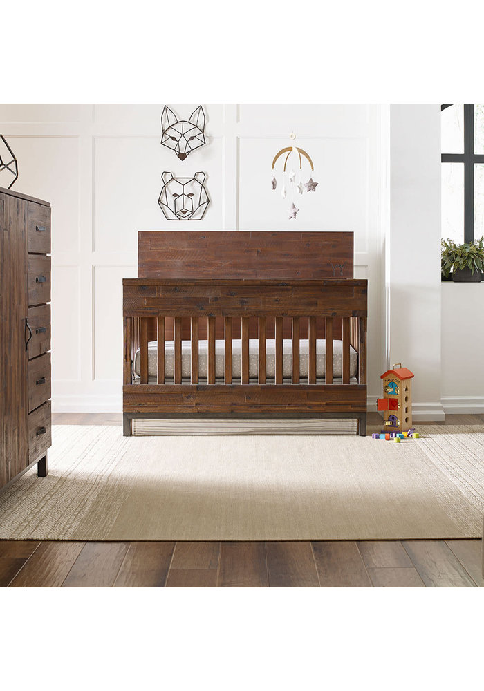 ED Ellen Degeneres Greystone Convertible Crib In Hewn Brown