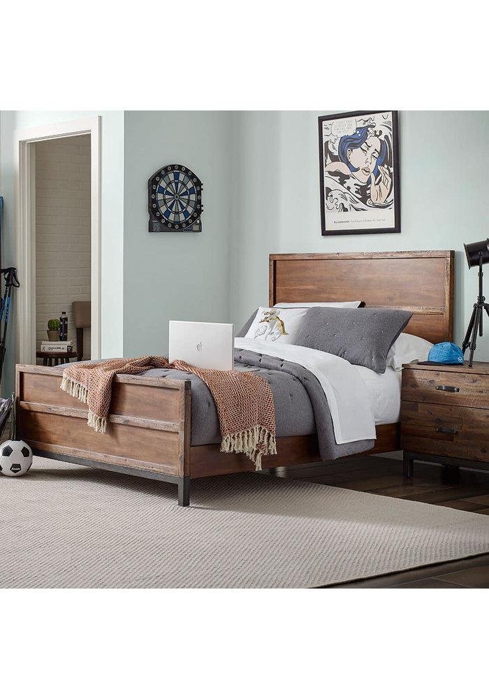 ED Ellen Degeneres Greystone Full Bed In Hewn Brown