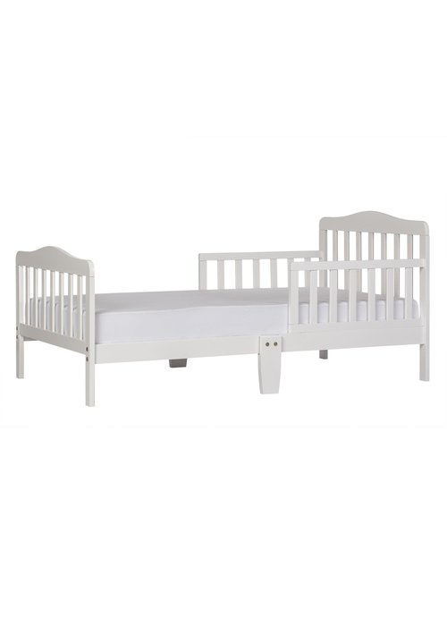 Dream On Me Toddler Bed In White