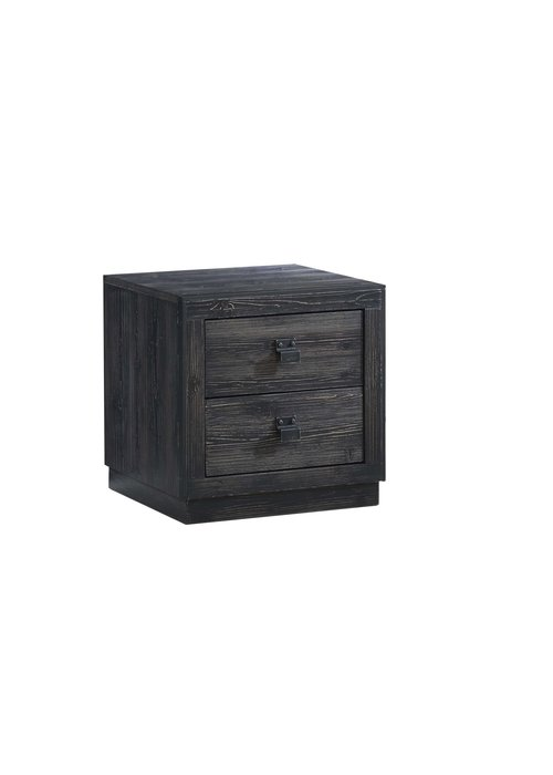 Natart Natart Sevilla Night Stand In Black Chalet