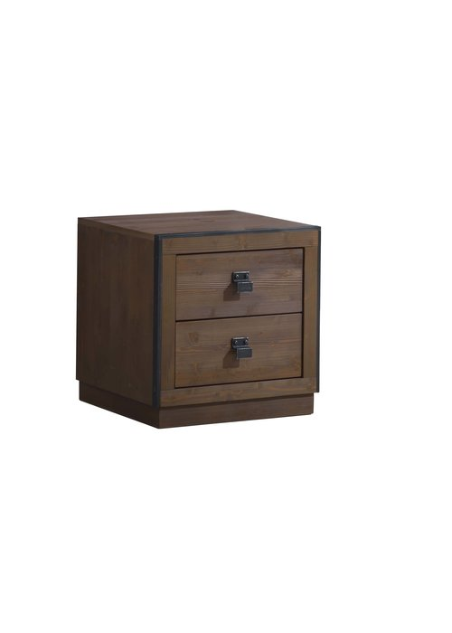 Natart Natart Sevilla Night Stand In Cognac