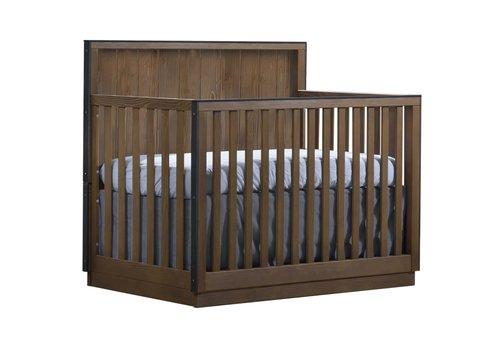 Natart Natart Valencia 5-in-1 Convertible Crib In Cognac