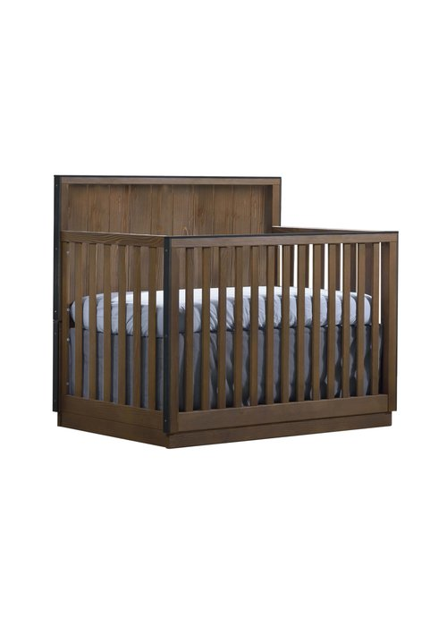 Natart Natart Valencia 5-in-1 Convertible Crib In Cognac