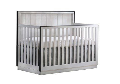 Natart Natart Valencia 5-in-1 Convertible Crib In White Chalet
