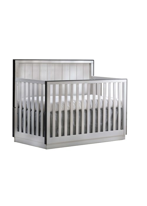 Natart Natart Valencia 5-in-1 Convertible Crib In White Chalet