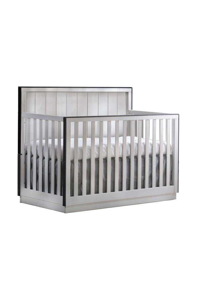Natart Valencia 5-in-1 Convertible Crib In White Chalet