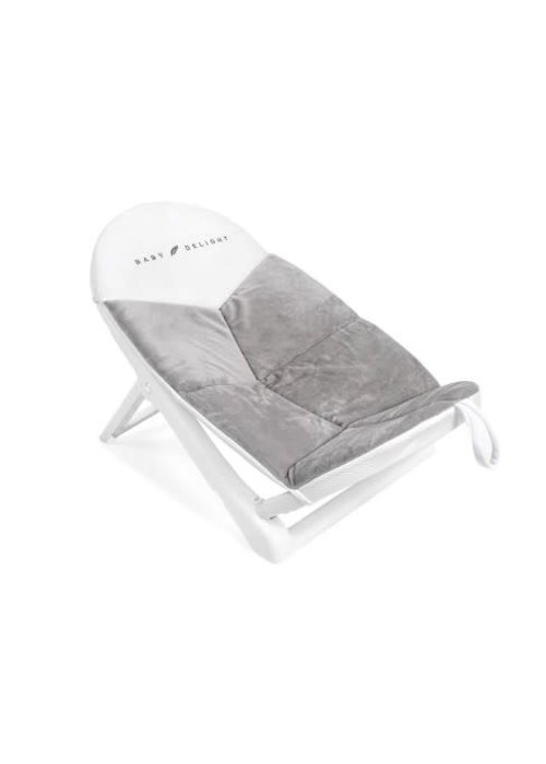 Baby Delight Baby Delight Cushy Nest Cloud- Premium Infant Bather White/Grey