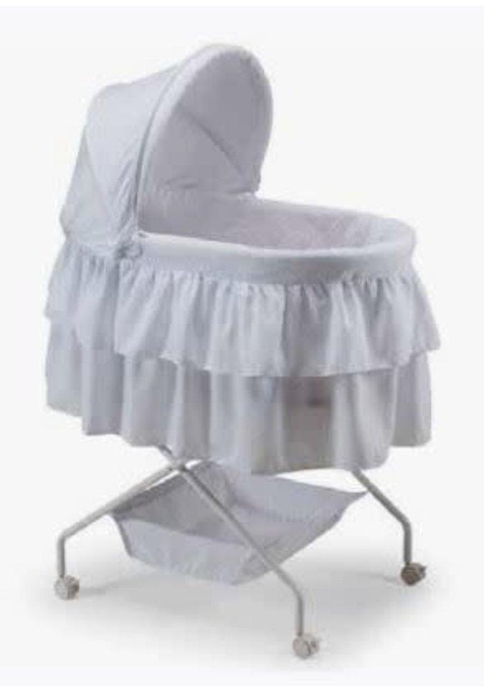Baby Time Madison Bassinett In White