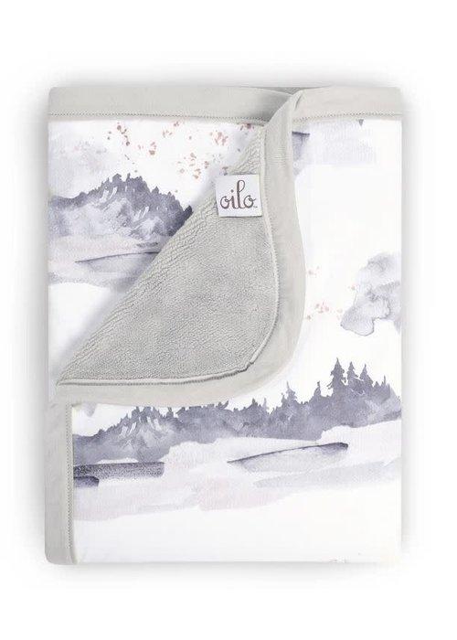Oilo Oilo Blanket In Misty Mountain