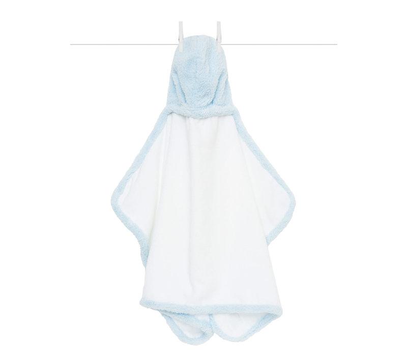 Little Giraffe Chenille Towel Hooded Towel In Blue