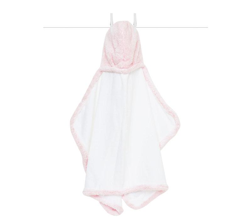 Little Giraffe Chenille Towel Hooded Towel In Pink