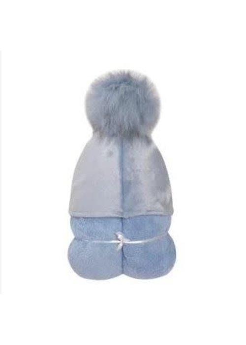 Winx + Blink Winx + Blinx Hooded Towel In Pompom Blue