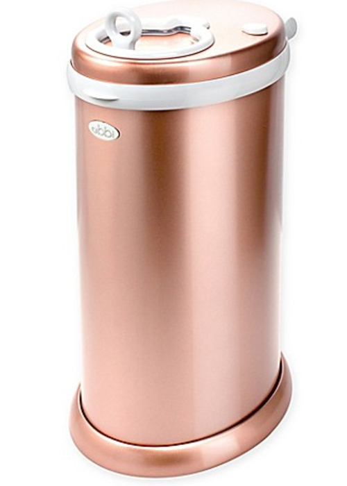 Ubbi World Ubbi Diaper Pail In Rose Gold