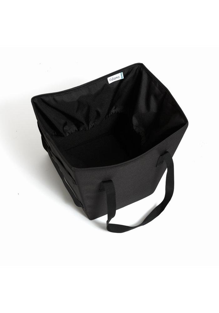Vidiamo Limo Tote Bag In Black