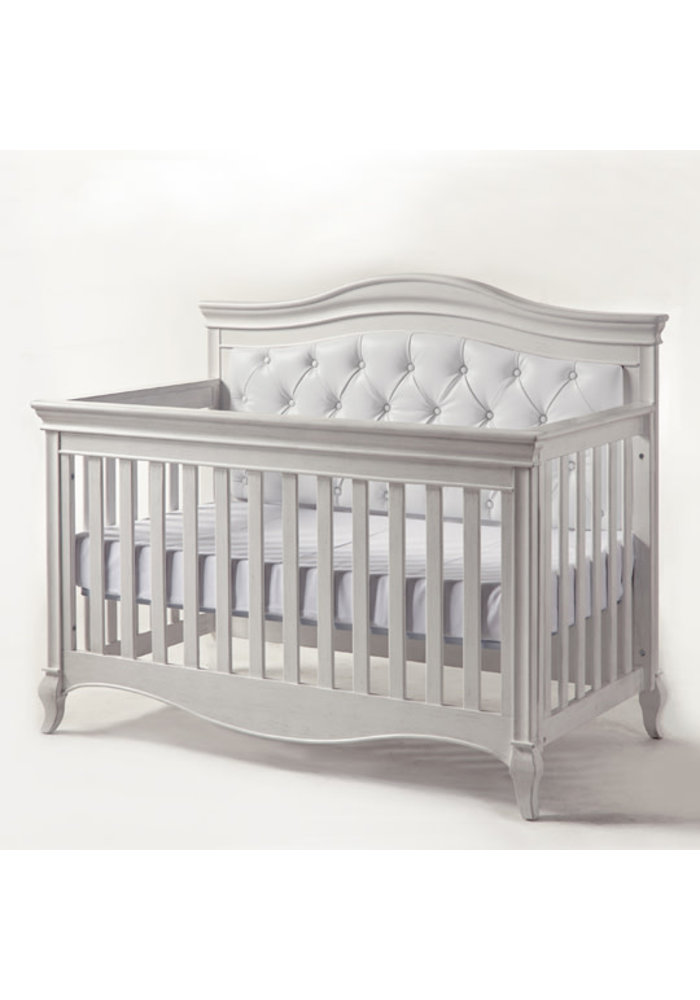 Pali Furniture Diamante Forever Crib In Vintage White with White Panel