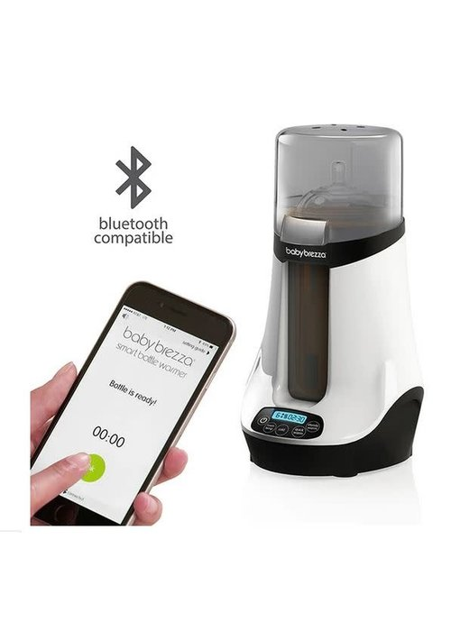Baby Brezza Baby Brezza Safe + Smart Baby Bottle Warmer (Bluetooth Compatible)