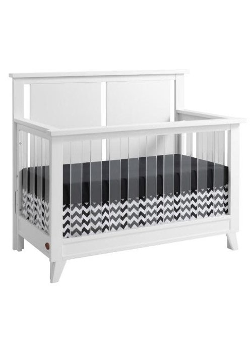 Oxford Baby Oxford Baby Holland 4 In 1 Acrylic Convertible Crib In White