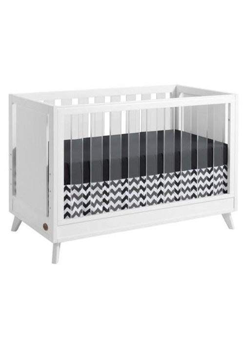 Oxford Baby Oxford Baby Holland Island Acrylic 3 In 1 Crib In White