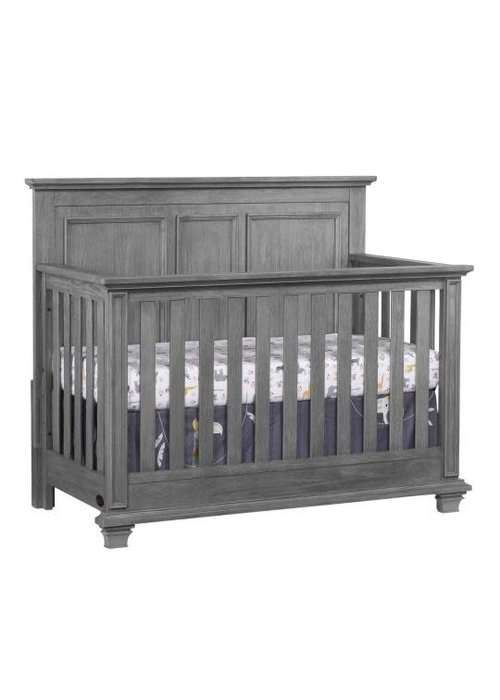 Oxford Baby Oxford Baby Kenilworth 4 In 1 Convertible Crib In Graphite Grey