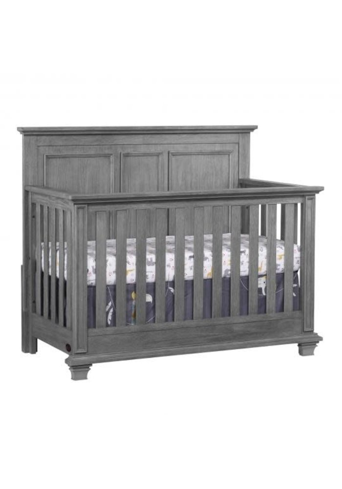 Oxford Baby Kenilworth 4 In 1 Convertible Crib In Graphite Grey