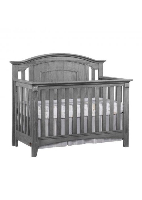 Oxford Baby Oxford Baby Willowbrook 4 In 1 Convertible Crib In Graphite Grey