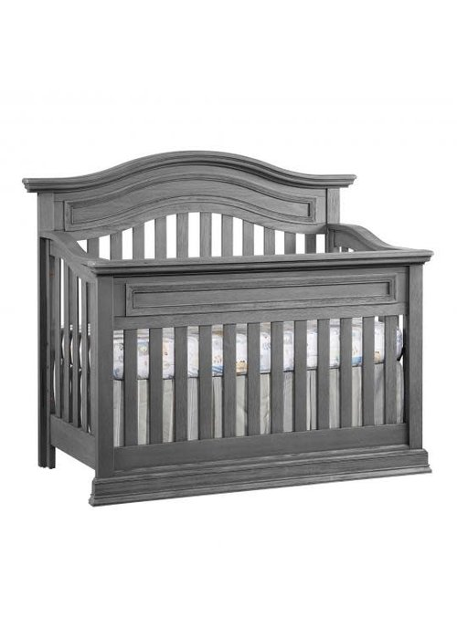 Oxford Baby Oxford Baby Glenbrook 4 In 1 Convertible Crib In Graphite Grey