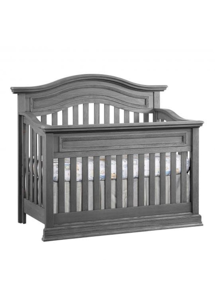 Oxford Baby Glenbrook 4 In 1 Convertible Crib In Graphite Grey