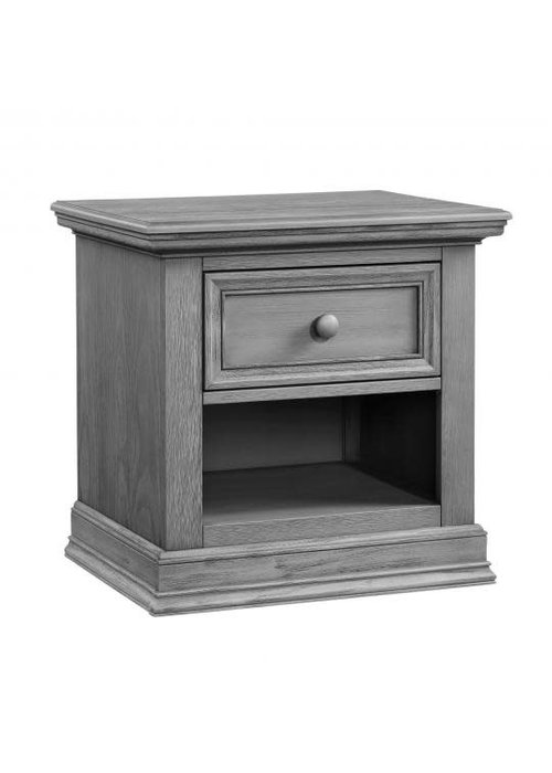 Oxford Baby Oxford Baby Glenbrook 1 Drawer Night Stand In Graphite Grey