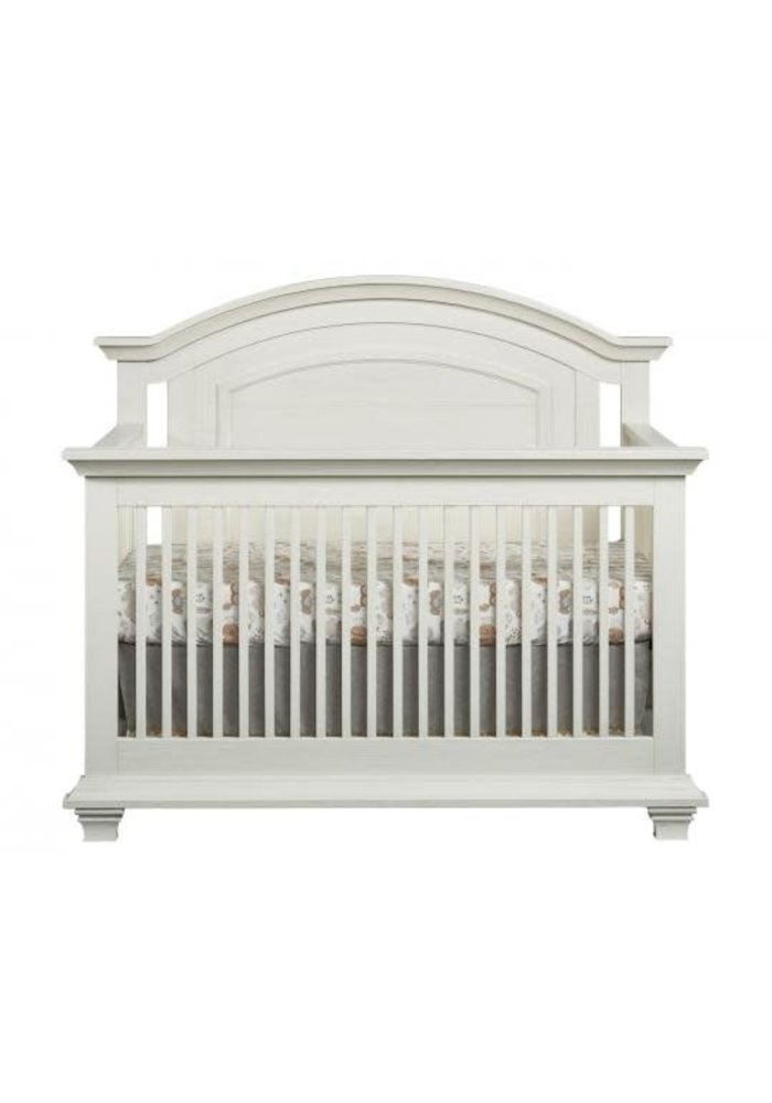 Oxford Baby Cottage Cove 4 In 1 Convertible Crib In Vintage White