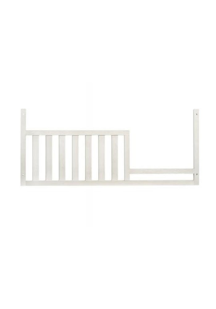 Oxford Baby Cottage Cove Toddler Guard Rail In Vintage White