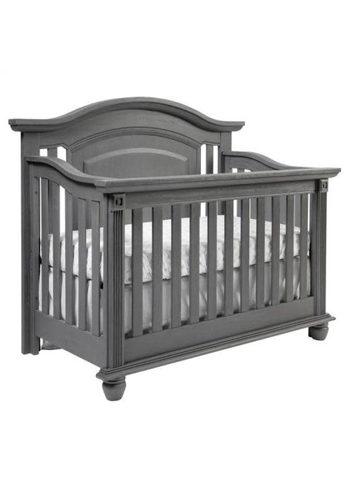 Oxford Baby Oxford Baby London Lane 4 In 1 Convertible Crib In Artic Gray