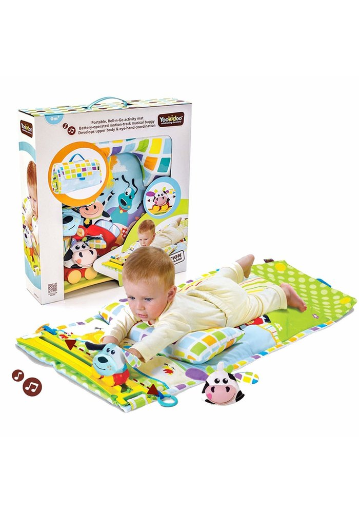 Yookidoo Gymotion Tummy Time Playland