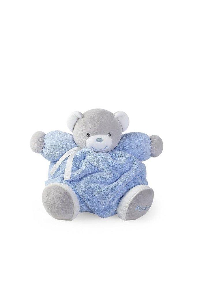 Kaloo Plume Blue Chubby Bear Toy (Medium)