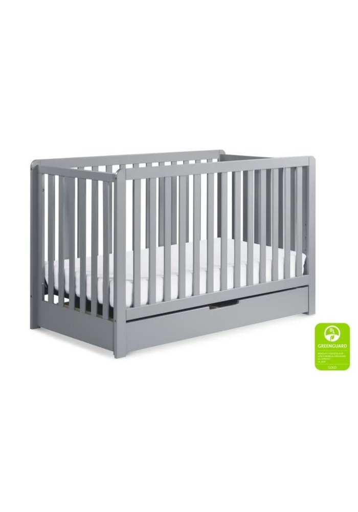 Davinci Colby 4-in-1 Convertible Crib w/ Trundle Drawer in Grey