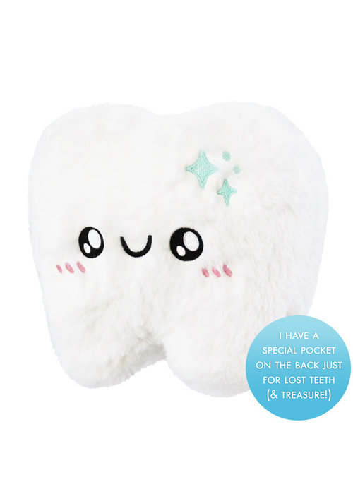 Squishable Squishable Mini Tooth, Tooth Fairy Style