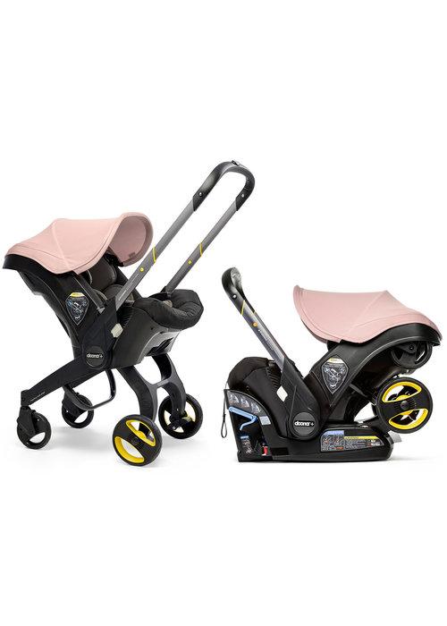 Doona Doona + Infant Car Seat - Stroller With Infant Car Seat Base Blush Pink