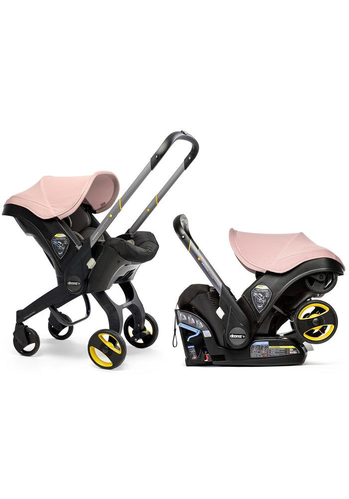 Doona + Infant Car Seat - Stroller With Infant Car Seat Base Blush Pink