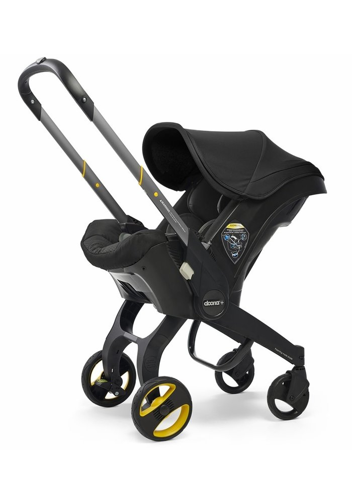 Doona + Infant Car Seat - Stroller With Infant Car Seat Base Nitro Black