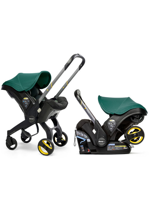 Doona Doona + Infant Car Seat - Stroller With Infant Car Seat Base Racing Green