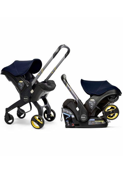 Doona Doona + Infant Car Seat - Stroller With Infant Car Seat Base Royal Blue